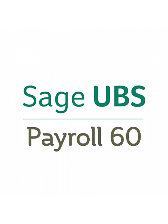 UBS Payroll 60 Software (Single User) Latest Version